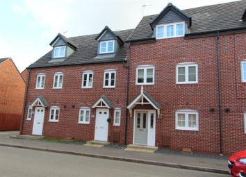 Thumbnail 4 bed town house to rent in Foss Road, Hilton, Derby