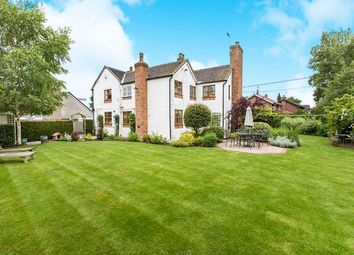 Thumbnail 4 bed detached house for sale in Main Road, Goostrey, Crewe
