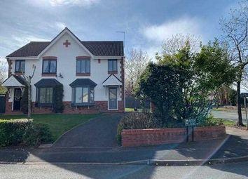 Thumbnail 3 bed semi-detached house for sale in Batkin Close, Burslem, Stoke-On-Trent