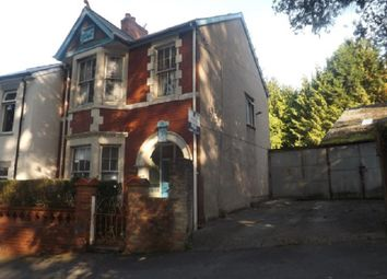 Thumbnail 3 bedroom end terrace house for sale in Woodland Road, Newport, Gwent.