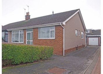 Thumbnail 2 bed semi-detached bungalow for sale in Banbury Road, Morecambe