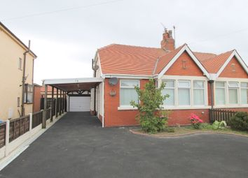 Thumbnail 2 bed semi-detached bungalow to rent in Rutland Avenue, Cleveleys