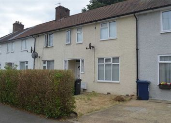 Thumbnail 3 bed terraced house to rent in Goldbeaters Grove, Burnt Oak, Middlesex