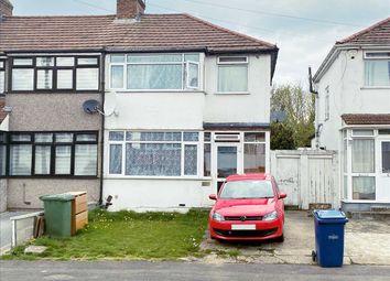 Thumbnail 3 bed end terrace house for sale in Raeburn Road, Edgware