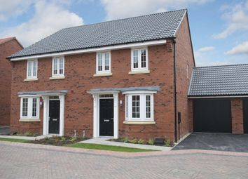 "Thumbnail 3 bed semi-detached house for sale in ""Oakfield"" at Hill Pound, Swanmore, Southampton"
