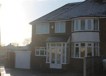 Thumbnail 5 bedroom semi-detached house for sale in Gailey Croft, Great Barr, Birmingham