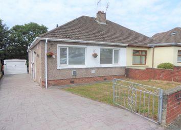 Thumbnail 3 bedroom semi-detached bungalow for sale in Longfellow Drive, Cefn Glas, Bridgend.