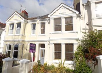 Thumbnail 3 bed terraced house for sale in Rugby Road, Brighton