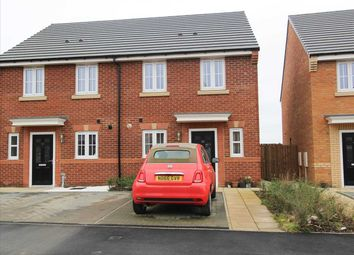 Thumbnail 2 bed semi-detached house for sale in Meganzer Crescent, Barley Meadows, Cramlington