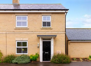 Thumbnail 2 bed end terrace house for sale in Lannesbury Crescent, St. Neots
