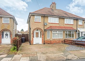 Thumbnail 3 bed semi-detached house for sale in Birchfield Road East, Abington, Northampton
