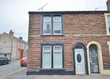 Thumbnail 2 bed end terrace house for sale in John Street, Workington