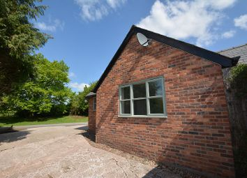 Thumbnail 1 bed detached bungalow to rent in Lugwardine, Hereford