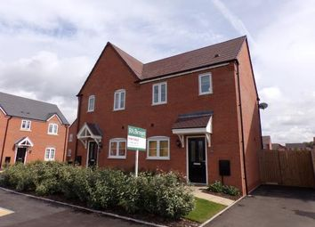 Thumbnail 2 bed semi-detached house for sale in Blenheim Road, Stratford Upon Avon, Warwickshire