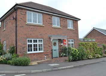 Thumbnail 3 bed detached house for sale in Newman Drive, Church Gresley, Swadlincote