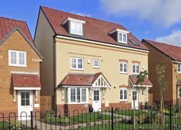 "Thumbnail 4 bed semi-detached house for sale in ""Woodbridge"" at Ponds Court Business, Genesis Way, Consett"