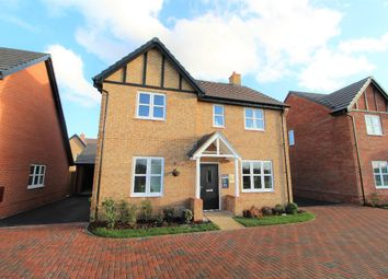 Thumbnail 4 bed detached house for sale in Mill Lane, Cranfield, Bedfordshire