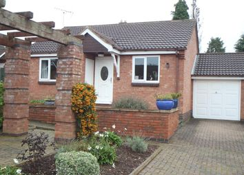 Thumbnail 2 bedroom detached bungalow for sale in Coniston Court, Earl Shilton, Leicester