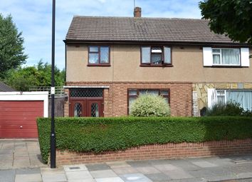 Thumbnail 3 bed semi-detached house for sale in Amberley Road, Bush Hill Park