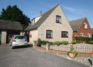 Thumbnail 3 bed detached house for sale in Edenside Drive, Attleborough