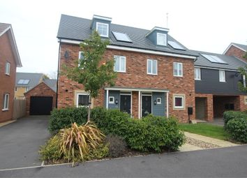 Thumbnail 3 bedroom town house for sale in Meacham Meadow, Wolverton, Milton Keynes, Buckinghamshire