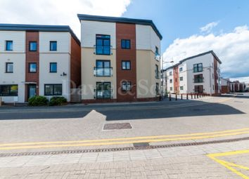 Thumbnail 2 bedroom flat for sale in Rodney House, Millennium Walk, Newport.