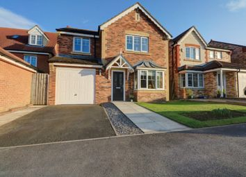Thumbnail 4 bed detached house for sale in Harwood Close, Templetown, Consett