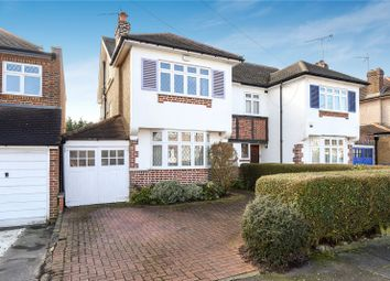 Thumbnail 4 bed semi-detached house for sale in Tewkesbury Avenue, Pinner, Middlesex