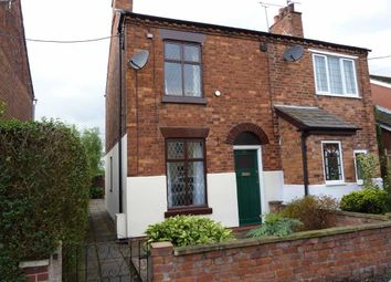 Thumbnail 2 bed semi-detached house to rent in New Street, Haslington, Crewe