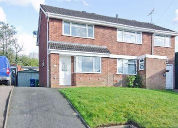 Thumbnail 2 bed semi-detached house to rent in Beverley Hill, Hednesford, Cannock