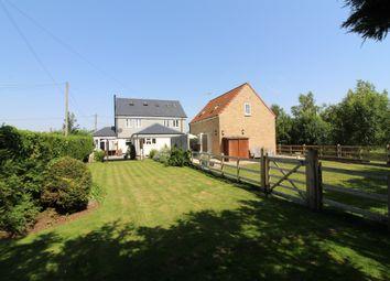 Thumbnail 4 bed detached house for sale in Six Score Road, Langtoft, Peterborough