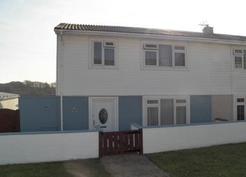 Thumbnail 3 bed semi-detached house to rent in Milton Crescent, Milford Haven