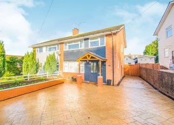 Thumbnail 4 bedroom semi-detached house for sale in Cranleigh Rise, Rumney, Cardiff