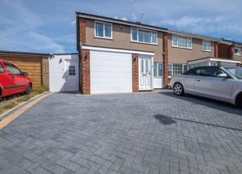 Thumbnail 3 bed semi-detached house to rent in Pevensey Road, Putnoe, Bedford