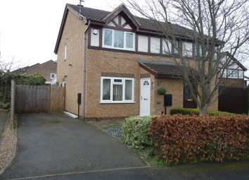 Thumbnail 2 bed semi-detached house to rent in Trafalgar Way, Glen Parva, Leicester
