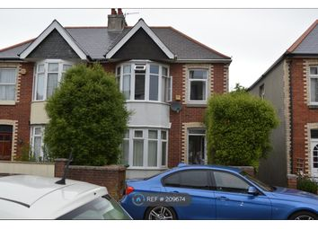 Thumbnail 5 bed semi-detached house to rent in Ladysmith Rd, Plymouth