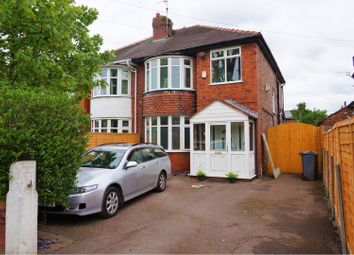 Thumbnail 3 bed semi-detached house for sale in Barlow Moor Road, Manchester