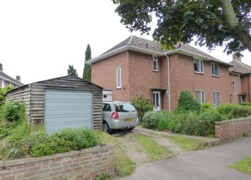 Thumbnail 3 bed end terrace house for sale in Cunningham Road, Norwich