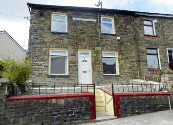Thumbnail 3 bed end terrace house to rent in Tylorstown -, Ferndale