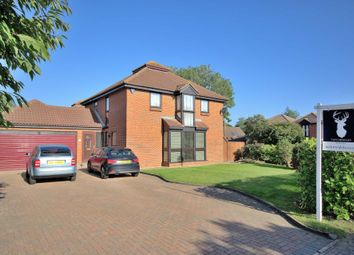 Thumbnail 4 bedroom detached house for sale in Livesey Hill, Shenley Lodge, Milton Keynes