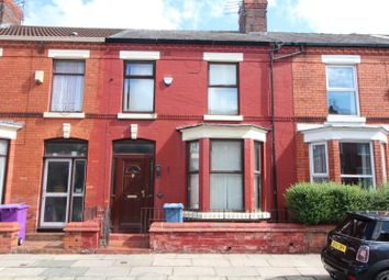 Thumbnail 3 bed terraced house to rent in Avondale Road, Wavertree