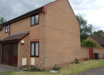 Thumbnail 2 bed end terrace house to rent in 7 Lincroft, Cranfield, Beds