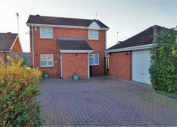 Thumbnail 2 bed detached house for sale in Peregrine Rise, Leicester