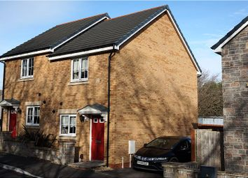 Thumbnail 2 bed semi-detached house for sale in Maes De Braose, Swansea