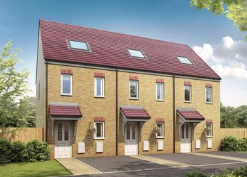 "Thumbnail 3 bed semi-detached house for sale in ""The Moseley"" at Derwen View, Brackla, Bridgend"