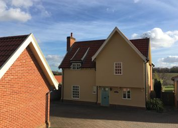 Thumbnail 4 bed detached house for sale in Upper Street, Baylham, Ipswich