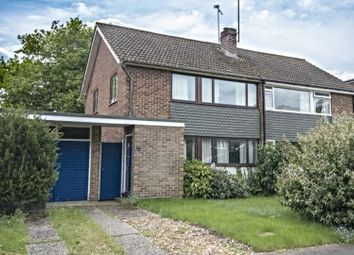 Thumbnail 3 bed semi-detached house for sale in The Crescent, Mortimer