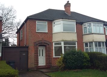 Thumbnail 3 bed semi-detached house to rent in Wood Lane, Handsworth Wood