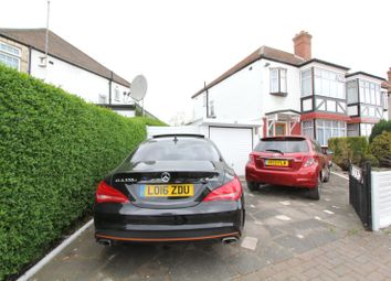 Thumbnail 3 bed semi-detached house for sale in Oldborough Road, Wembley, Middlesex