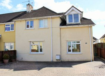 Thumbnail 4 bed semi-detached house for sale in Leigh Close, Boverton, Llantwit Major